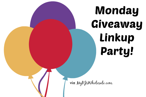 Monday Giveaway Link Up Party (October 20)