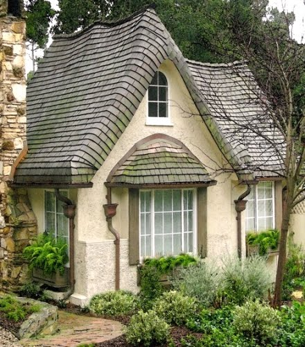Coolest cottages tours rentals more the historic for Fairytale cottage home plans