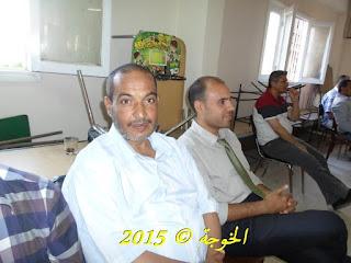 الحسينى محمد , الخوجة, المعلم المحترف