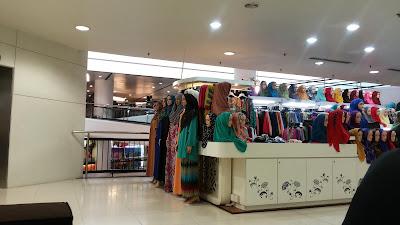 kedai tudung, subang parade, shah alam, shopping complex