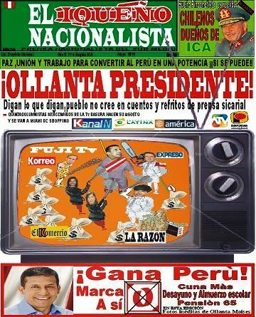 """PRENSA PUBLICADA:""""EL IQUEÑO NACIONALISTA"""""""