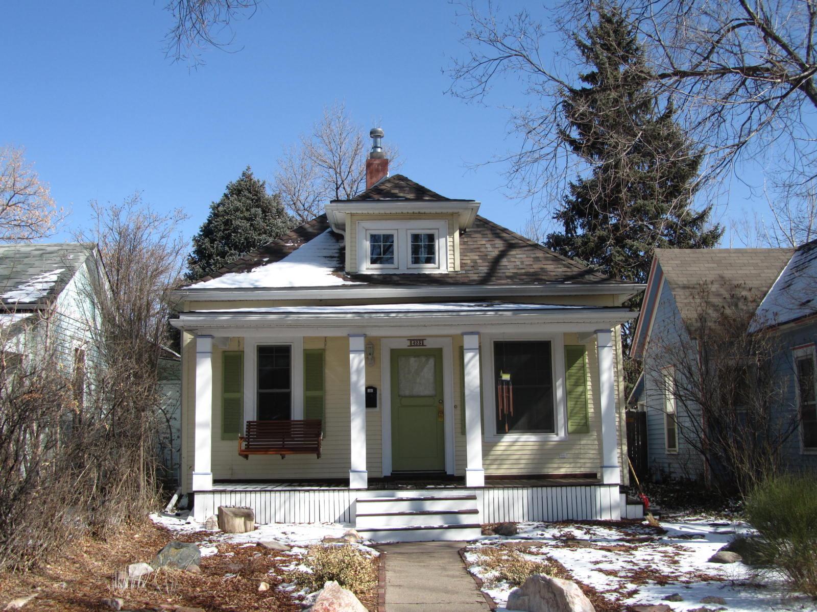 Autoliterate American Houses Franklin Street Colorado