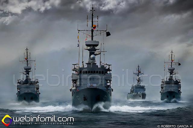 Fragatas Colombia FS-1500 Armirante Padilla