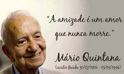 Vida e o poeta Mario Quintana