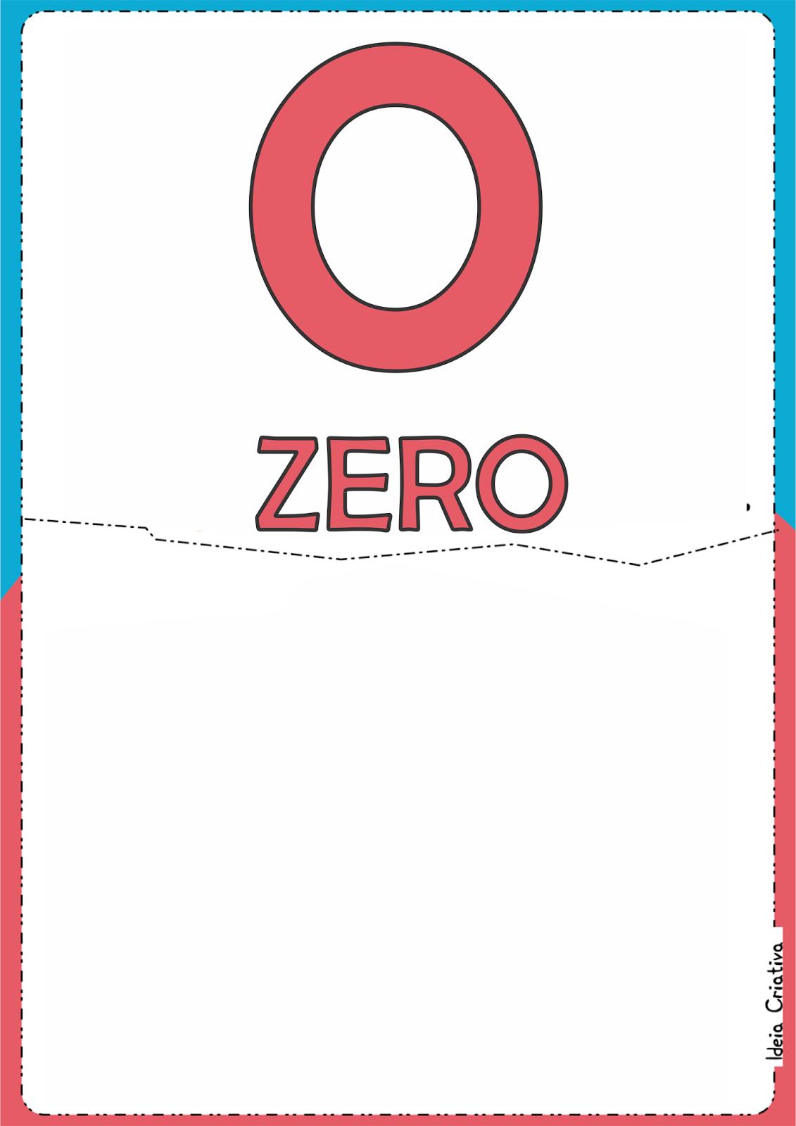 Numerais Corujinha para Imprimir Grátis