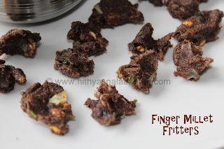 Ragi Pakoda | Millet Fritters