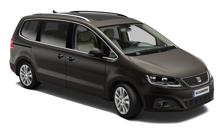 Seat Alhambra Ii 2014 Couleurs Colors