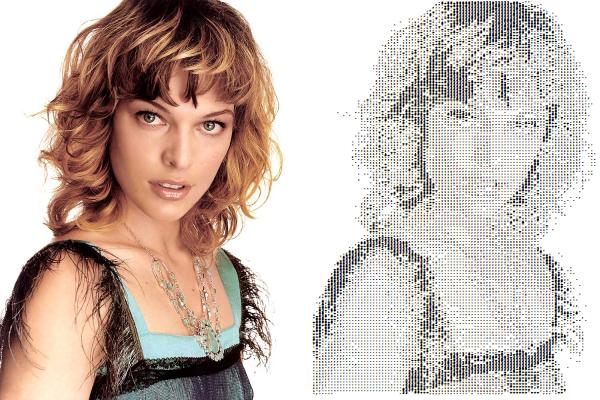 Convert any photo into ASCII art