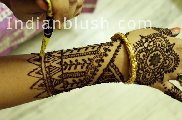 Wedding Mahendi Design for Hand