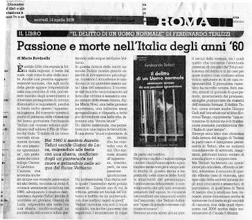 IL ROMA... RECENSIONE DEL MIO LIBRO