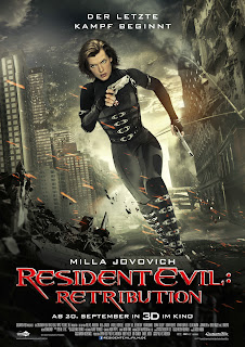Resident Evil Retribution Plakat