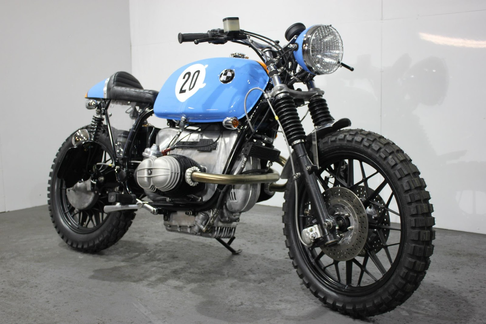 Racing Caf 232 Bmw R100 Rs Street Scrambler Quot Le Man Quot By