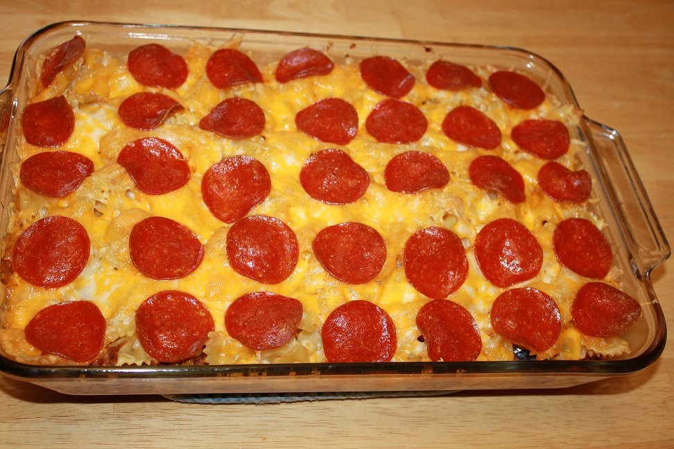 Pizza Casserole | Chid Zone