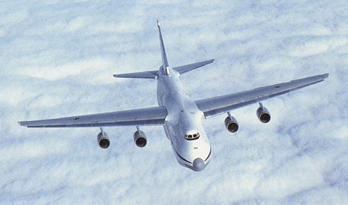 An-124 Heavy Military Transport Aircraft