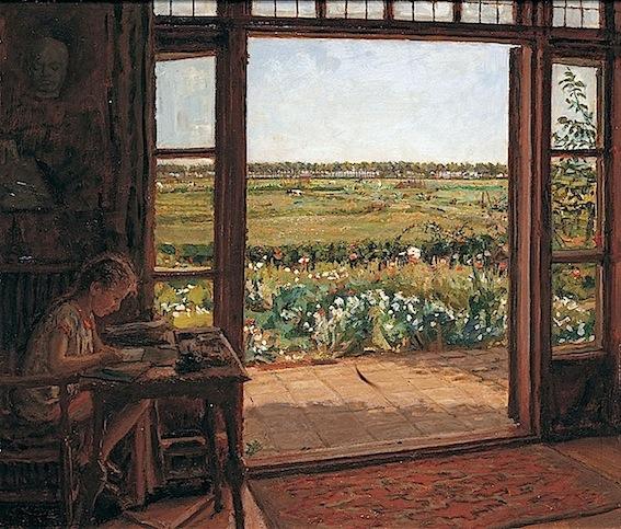 Coen van Oven. Uitzicht van Raamvliet, 1936