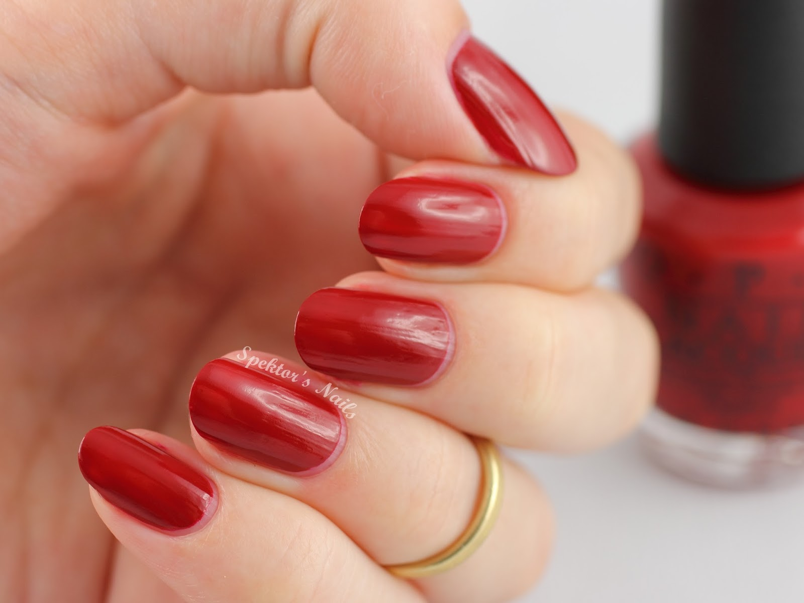 OPI Holiday 2014 Cinnamon Sweet