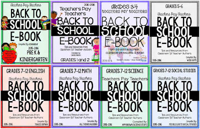 Free Back to School Resources for Teachers