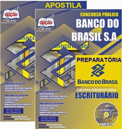 Apostila (Atualizada) Banco do Brasil S.A - Carreira Administrativa - 2015