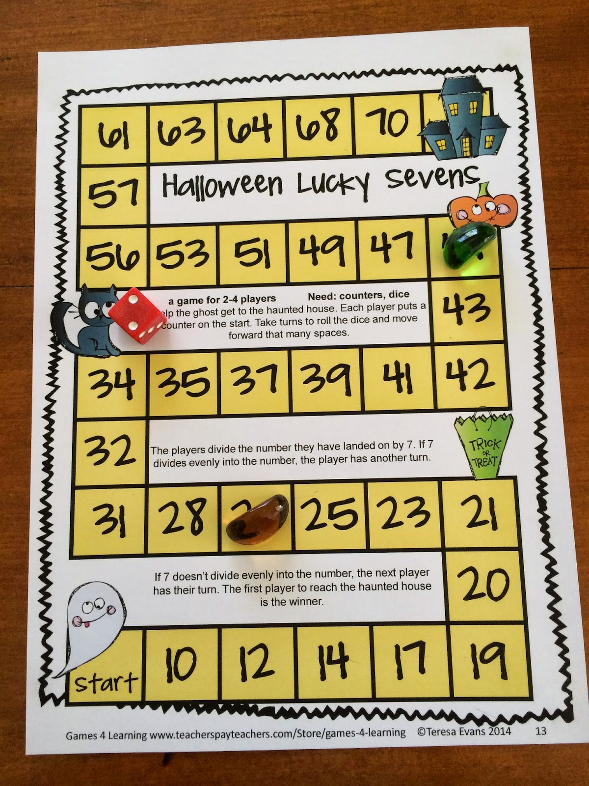 Fun Games 4 Learning: October 2014
