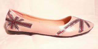 Les souliers de salom ballerines estivales s lectionn es pour vous - Ballerine rose poudre ...