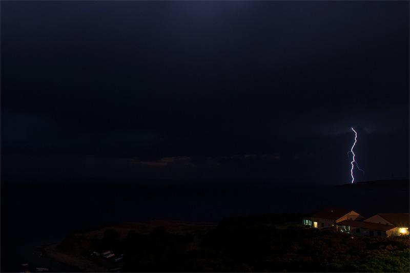Zaglav Cres lightning Pula