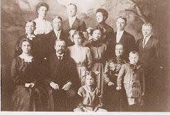 John Reuben and Luanna Bird Kindred family