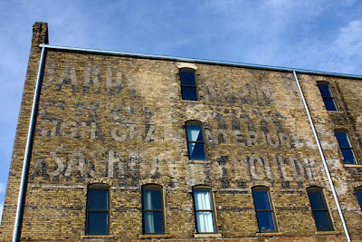Multiple Industry Ghost Sign Photograph