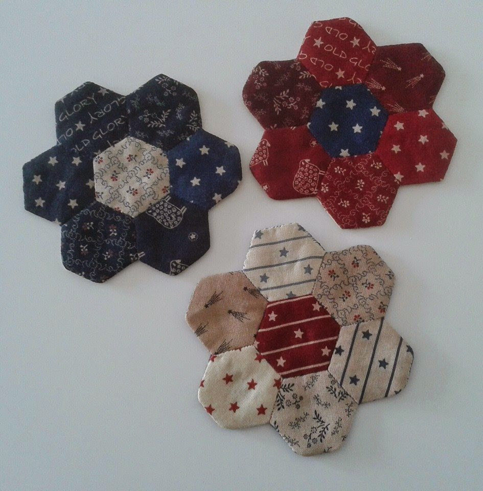 hexagon onderzetters
