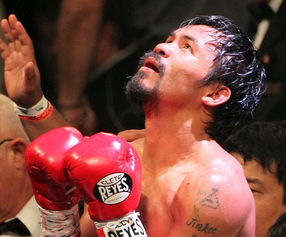 ... manny pacman pacquiao wins over his fight with brandon rios manny wins