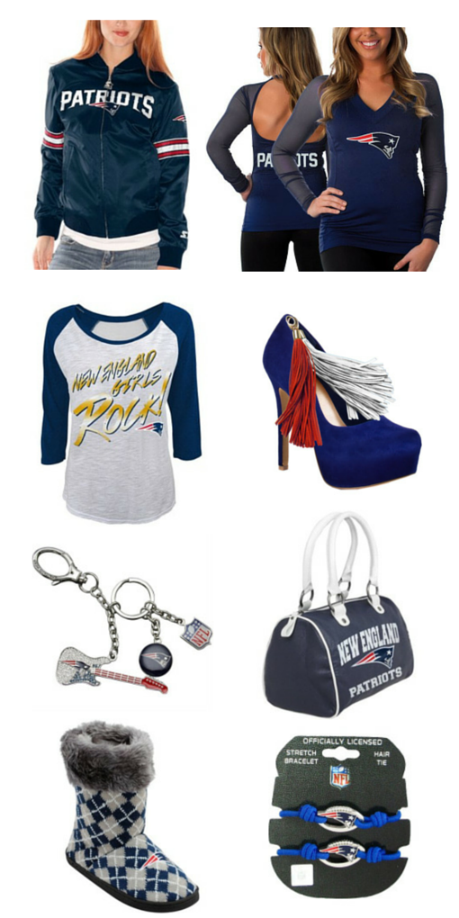 Patriots gear for women
