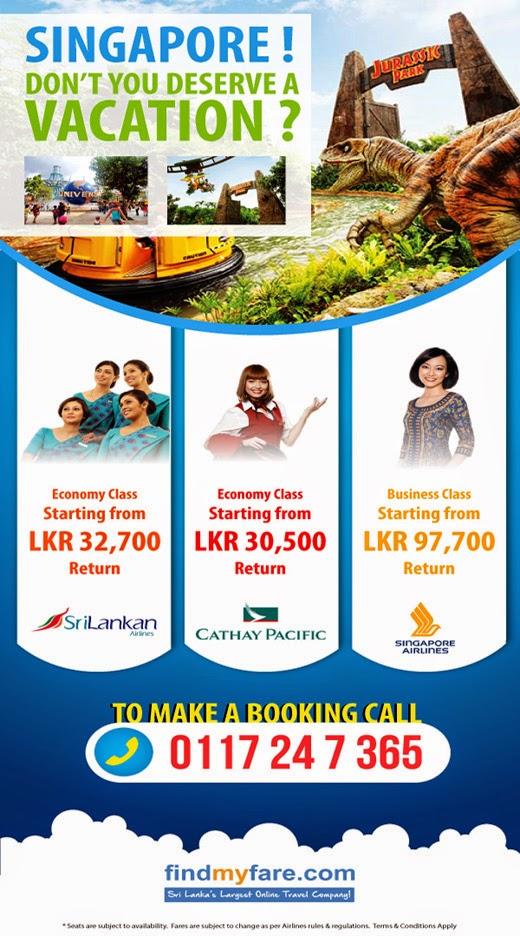 Experience Singapore !