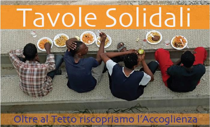 TAVOLE SOLIDALI A ROMA  - cliccando sull'immagine si accede alla pagina FB