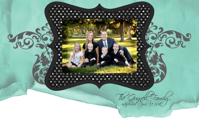 The Gunnell Family Blog