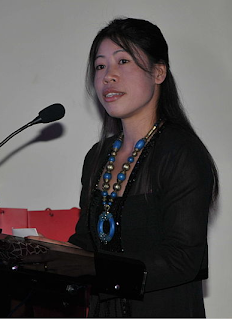 Mary Kom giving speech