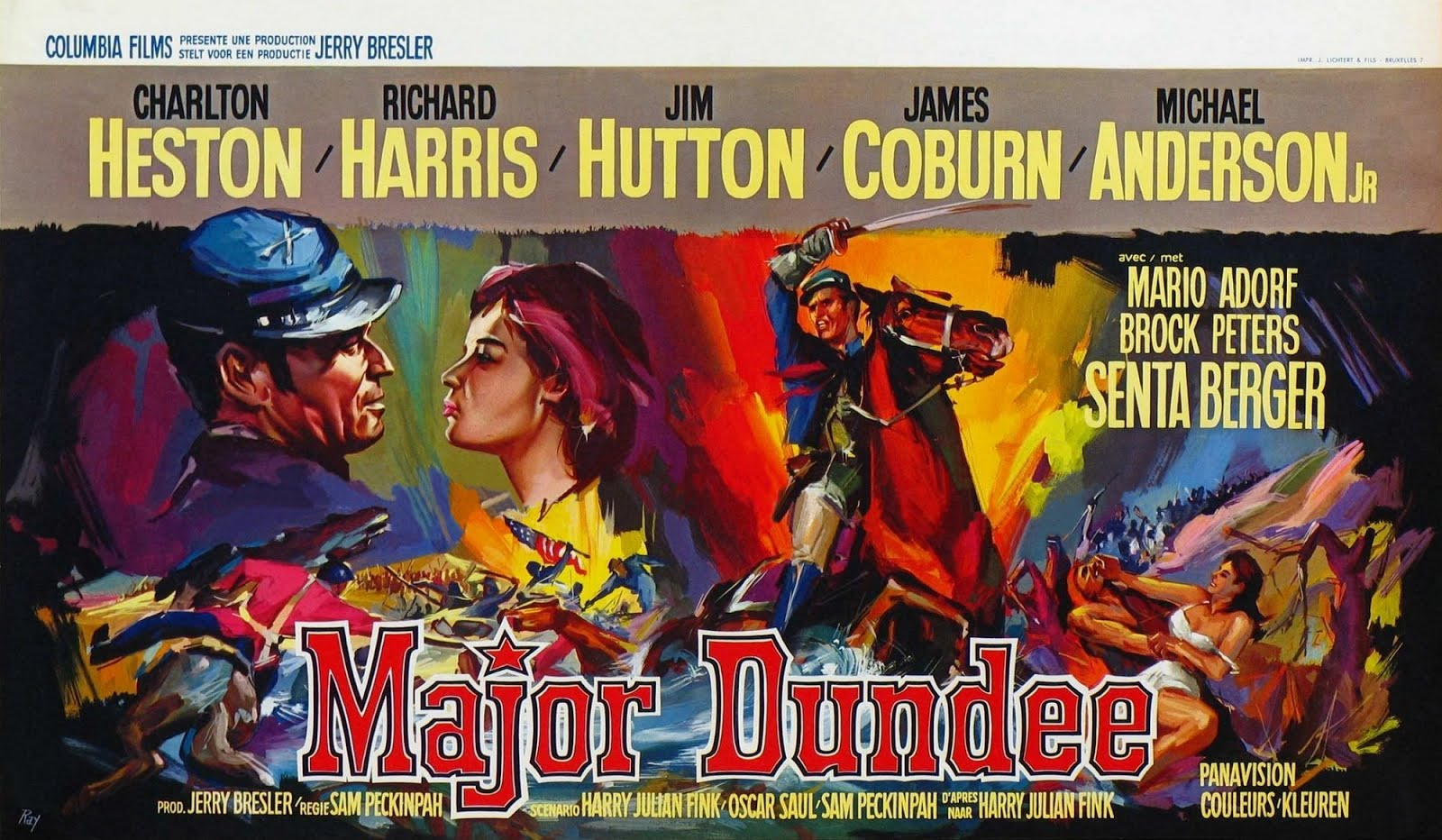 Mayor Dundee (1964) Sam Peckinpah (Versión extendida 720p)