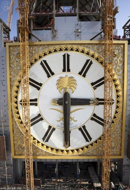 Worlds Largest Clock in Makkah