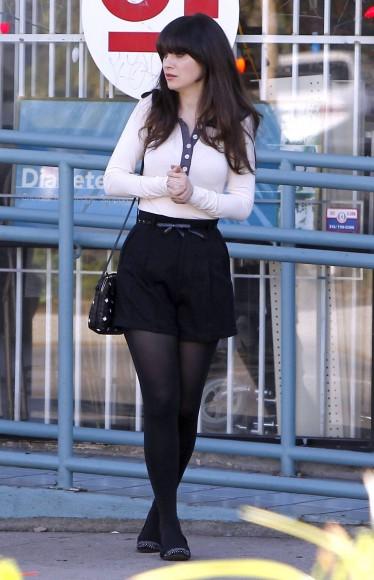 black elegant shorts