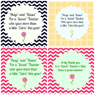 "A little ""Extra"" Appreciation for our Teachers and Free ..."