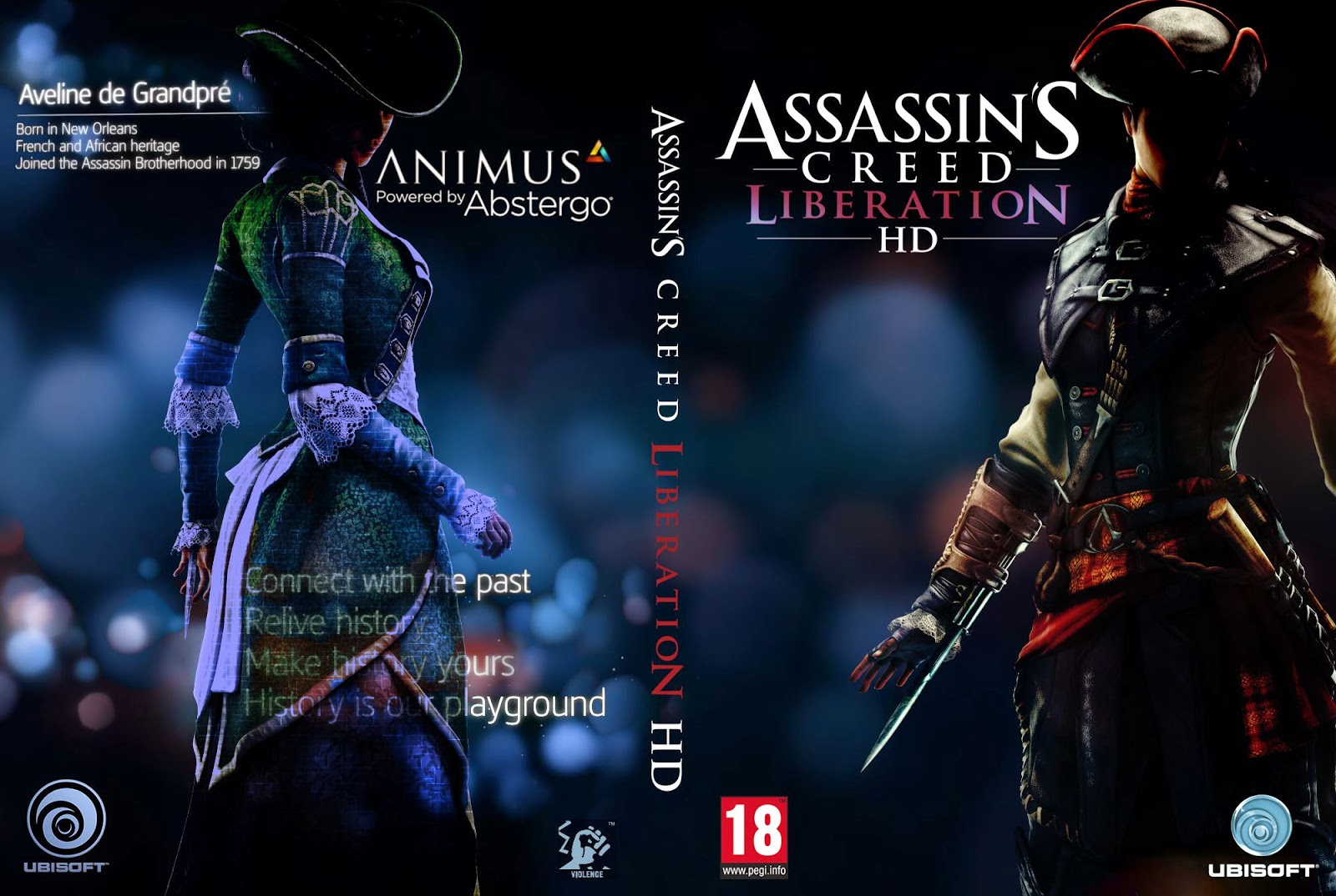 Capa Assassins Creed Liberation HD PC