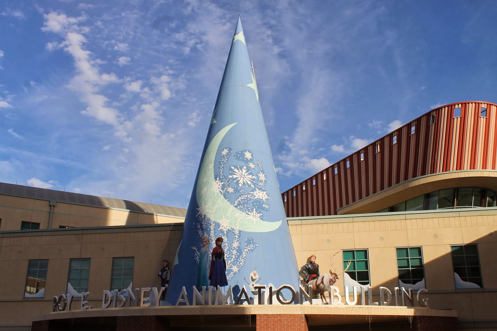 December 16 2013 Visting Walt Disney Animation Studios Castles