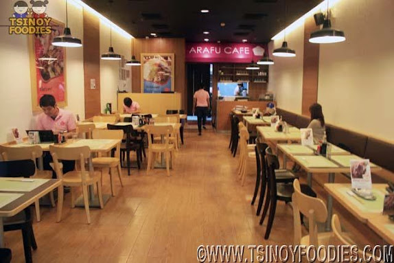 arafu cafe sm north edsa