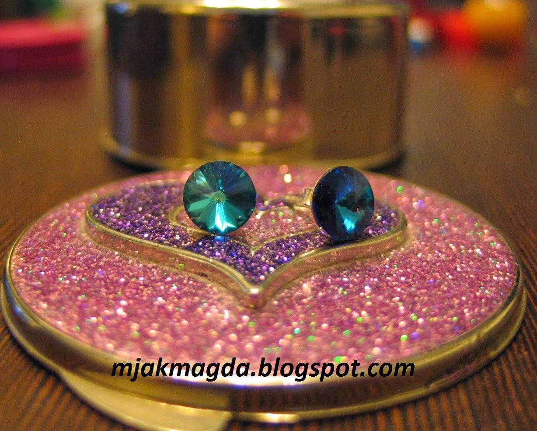 biżuteria, biżu, kolczyk, kolczyki, kryształ, kryształki, swarovski, swarovsky, srebro, srebrne, sztyft, błyszczące, delikatne, handmade, jewelry, Bizu, earring, earrings, crystal, crystals, swarovski, swarovsky, silver, silver, stick, shiny, delicate, handmade