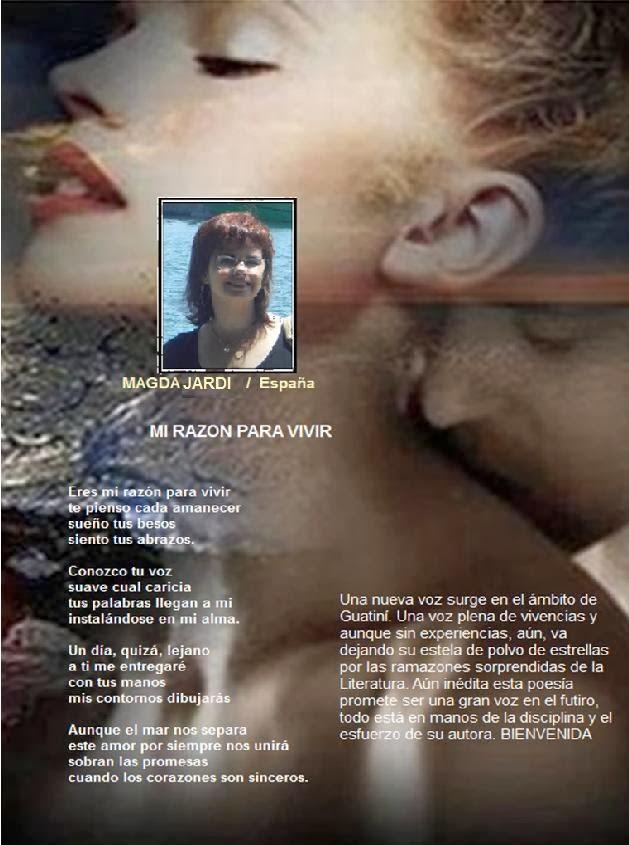 Mi página en la Revista Guanimí