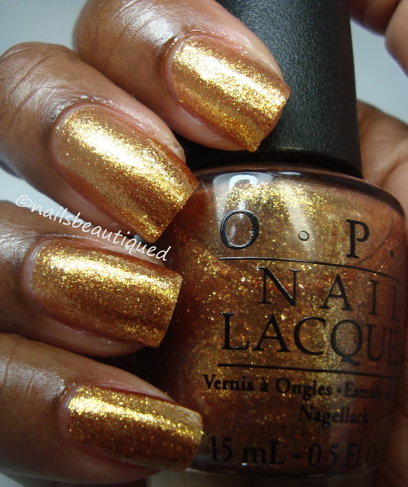 Opi Goldeneye unbitten polish: OPI S...