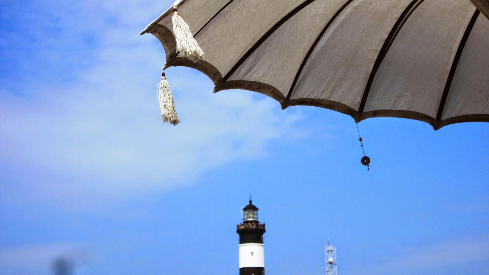 Chassiron sous parasol