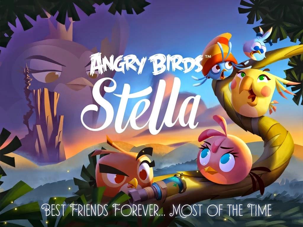 Angry Birds Stella v1.0.1 APK Mod