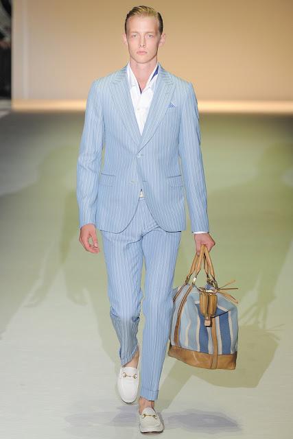 MIlan Men's Fashion Week 2012 Spring 2013 Gucci Luxury Yachting Style