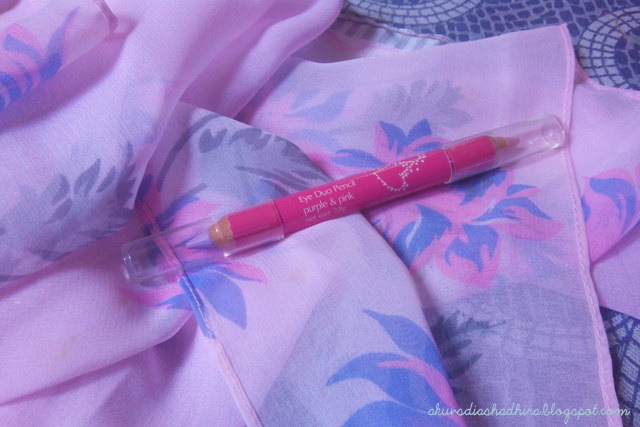 avon Eye Duo Pencil Miss Sweet Pink + Purple