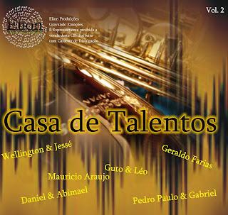 Coletânea - Casa de Talento - Vol. 2 - 2011
