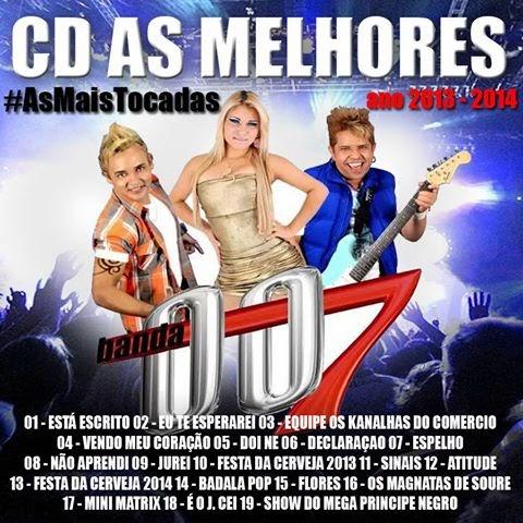CD COM OS MELHORES MELODYS, OS MAIS TOCADOS DE 2013 E 2014